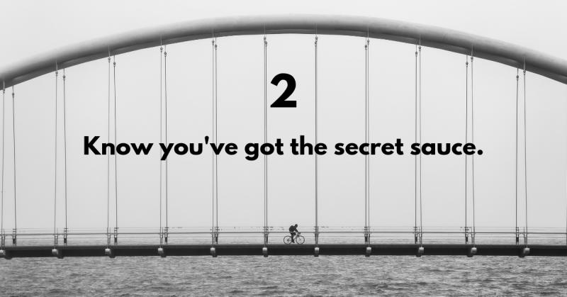 Bridge the digital skills gap - know you've got the secret sauce.