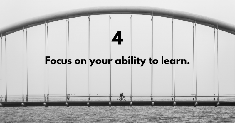 Bridge the digital skills gap—focus on your ability to learn